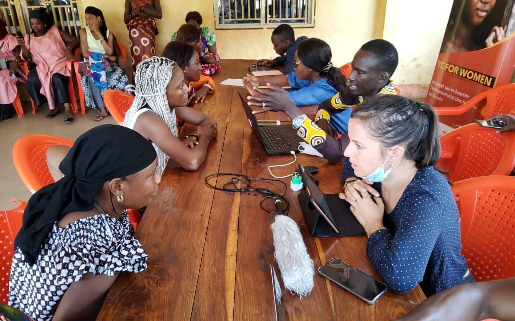 YouthConnekt for Women Guinée entame une tournée de présélection des projets des femmes dans les préfectures de l'intérieur du Pays